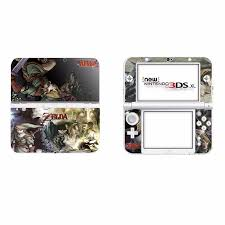 The Legend Of Zelda Vinyl Cover Decal Skin Sticker For New 3ds Xl Skins Stickers For New 3ds Ll Vinyl Skin Sticker Protector Stickers Aliexpress