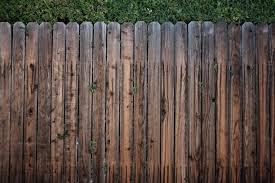 Brown Wooden Fence Free Stock Photo