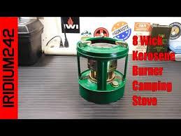 8 wick kerosene camp stove you