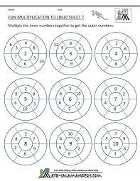multiplication worksheets grade math