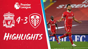 Highlights: Liverpool 4-3 Leeds Utd | Salah hits a hat-trick on the opening  day - YouTube