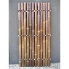 1800 X 900 X 35mm Black Half Raft Bamboo Fence Screening Bunnings Warehouse Bamboo Screening Fence Bamboo Fence Bamboo Screening