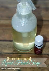 homemade liquid hand soap using thieves