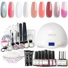 gel nail polish starter kit with uv