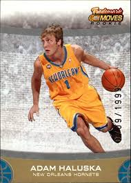 2007-08 Topps Trademark Moves Basketball #82 Adam Haluska RC at Amazon's  Sports Collectibles Store