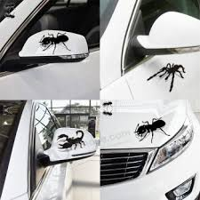 Custom The Scorpion Spider Ant Imitation 3d Three Dimensional Shadow Automotive Rearview Mirror Stickers Car Stickers Lahua Scratch Shield Buy Custom The Scorpion Spider Ant Imitation 3d Three Dimensional Shadow Automotive Rearview Mirror