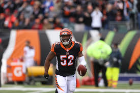 Bengals re-sign middle linebacker Preston Brown to three-year deal