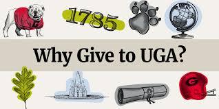 Why Give To Uga Uga Alumni Association
