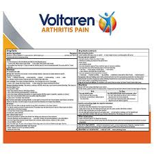 Voltaren Arthritis- Pain Relief and Inflamation Gel (1.76 oz) – Pathway  Health Store