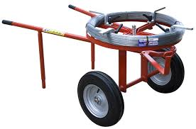 Wheelbarrow Wire Unrollers Dolmec