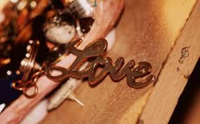 lettering text feeling love wallpaper