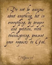 Do Not Be Anxious About Anything Philippians 4 6 Bible Verse Art Print Keep Calm Collection