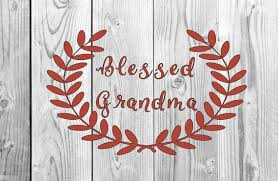 Blessed Grandma Vinyl Decal Cup Decal Car Decal Yeti Decal Etsy