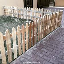 Pallet Picket Fence Ideas Pallet Ideas Modern Design In 2020 Wood Pallet Fence Wood Picket Fence Fence Design