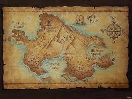 Map Of Neverland Neverland Map Peter Pan Nursery Pirate Maps