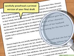 how to write a critical essay with