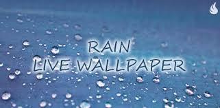 apps like rain live wallpaper for