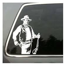 John Wayne Car Truck Vinyl Decal Die Cut Sticker On Popscreen