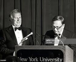 Preston Robert Tisch and John Brademas of New York University News Photo -  Getty Images