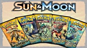 Pokemon Cards - ENGLISH Sun and Moon Booster Packs & Elite Trainer Boxes  [Solgaleo & Lunala!] - YouTube
