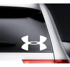 Under Armour Car Window Vinyl Decal Ipad Laptop Sticker 4 Color White Amazon Ca Home Kitchen