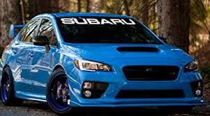 Amazon Com Subaru Windshield Banner
