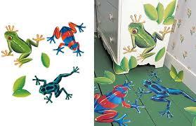 Wallies Tree Frogs Mural