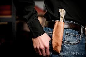 leather knife sheath tutorial mr