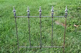 Wrought Iron New Orleans Fence Garden Border Edging