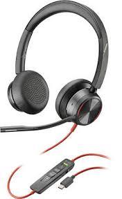 PLANTRONICS BLACKWIRE 3225 USB-A Corded UC Stereo Headset (Black ...