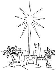 Kids N Fun Kleurplaat Bijbel Kerstverhaal De Ster Van Betlehem