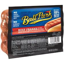ball park brand beef franks 15 oz