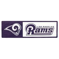 Applied Icon Nfl Los Angeles Rams Outdoor Step Graphic Nfsg1701 The Home Depot