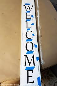 Easy Diy Welcome Sign You Can Make This Girl Just Diy