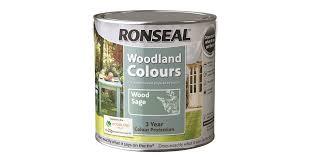 Ronseal Woodland Colour Paint 2 5 Litre Fence Shed Topline Bolands
