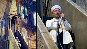 Ali Erbaş'ın Ayasofya hutbesine tepki: Mısıroğlu'na rahmet ...