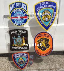 Nys Ny 1 City Of New York Police Department Inside Window Etsy