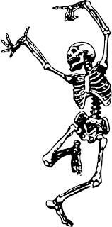 Dancing Skeleton Wall Decals Trading Phrases