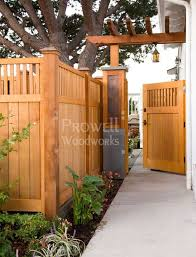 Prowell S Signature Gate 5 Garden In The Woods Fence Design Backyard Fences