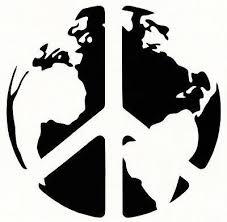 World Peace On Earth Vinyl Decal Sticker Window Wall Car Bumper Laptop Symbol
