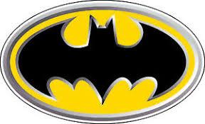 Batman Yellow Logo Bumper Sticker Wall Decor Large Vinyl Decal 12 5 X 7 5 Ebay