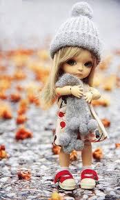 76 cute doll wallpaper on wallpapersafari