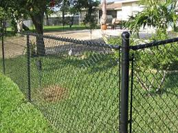 Black Chain Link Fences Http Deckandfencestore Com Black Chain Link Fence Chain Link Fence Backyard Fences