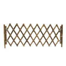 Garden Panels Wooden Fence Dog Folding Gate Expanding Panel Fold Able Indoor Outdoor Free Standing Safety