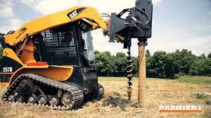 Hydraulic Post Driver Attachment Premier Attachments