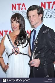 Matt Smith and Laura Jayne Smith National Television Awards held ...