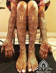 Bridal Jewellery Mehndi Design