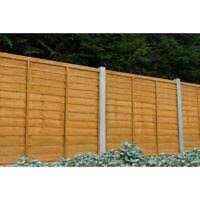 Fence Panels Gate Post Fixing 4x5 Inch 100x125mm Only Wall Band Fix Wooden Gate Post To Wall Garden Patio Garden Fencing