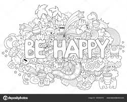 Printable Coloring Page For Adults With Cartoon Characters Hand