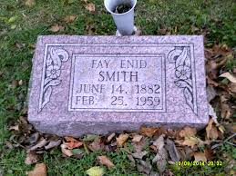 Fay Enid Stewart Smith (1882-1959) - Find A Grave Memorial